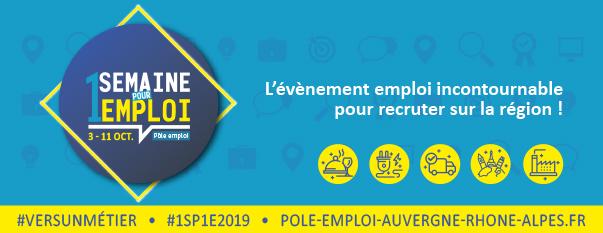 1 semaine pour 1 emploi- 2019