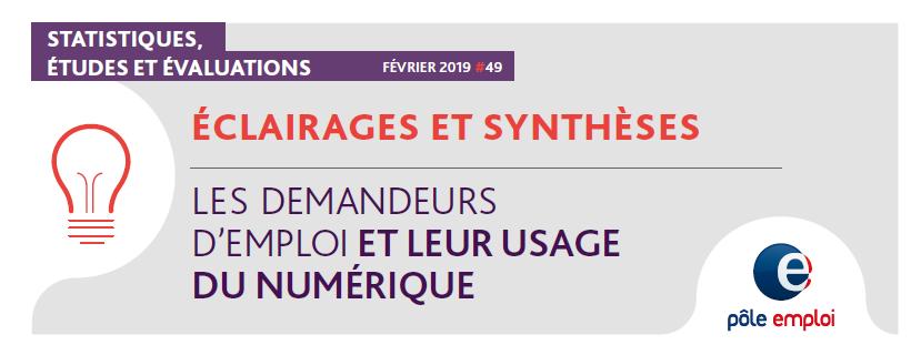 Eclairages et synthèses Pôle emploi - Février 2019 n°49
