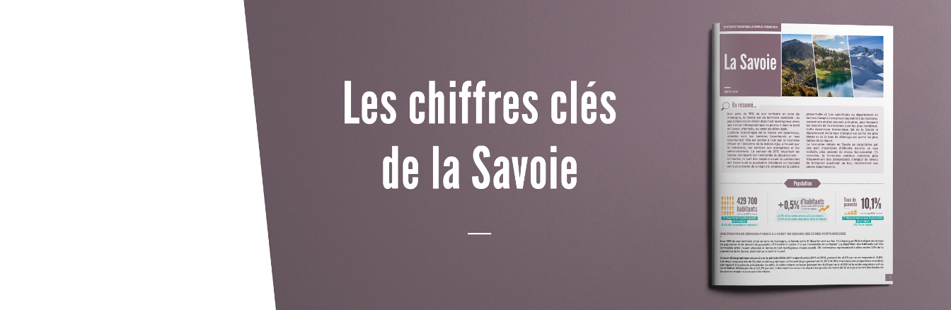 Synthèse territoriale emploi formation, la Savoie