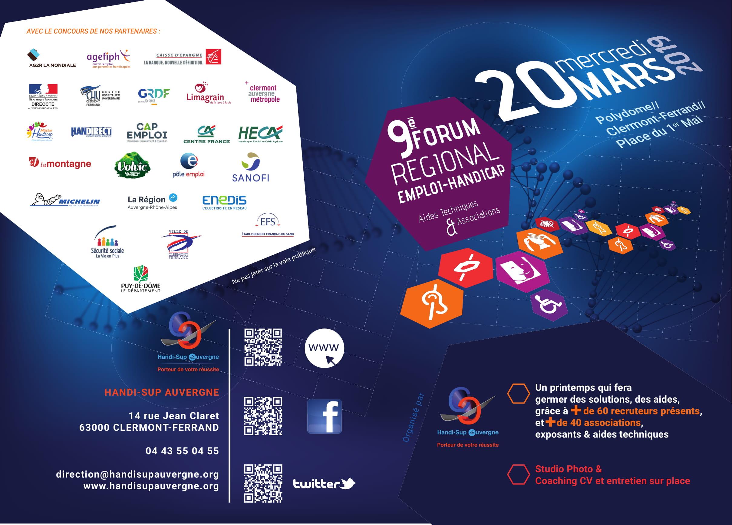 Forum Emploi Handicap - 20 mars 2019