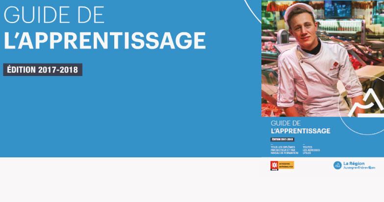 Guide apprentissage Auvergne-Rhône-Alpes 2017/2018