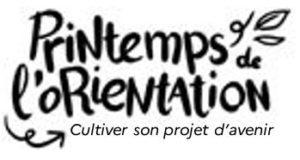 Logo le printemps de l'orientation