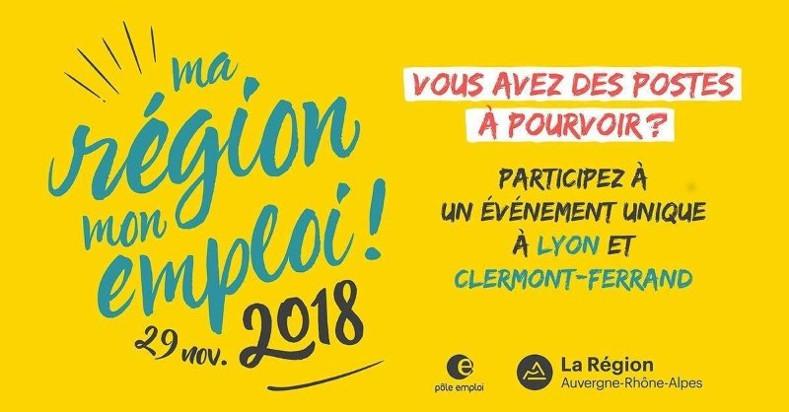 Ma Région Mon emploi - 2018