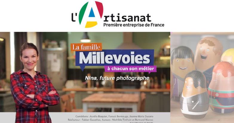 Famille Millevoies : découvrez les métiers de l'artisanat