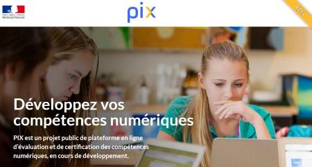 PIX une plateforme pour évaluer et certifier les compétences numériques