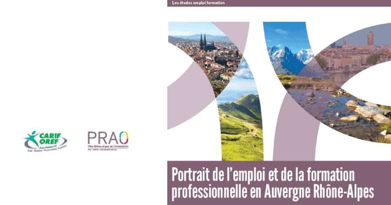 Portrait Emploi Formation Auvergne Rhône-Alpes