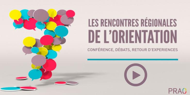 Rencontres régionales de l'orientation 2015