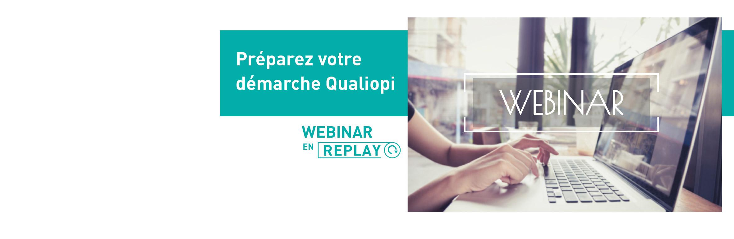 Replay webinar Qualiopi